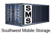 SMS logo southwest mobile storage